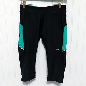 Nike Dri-Fit Cropped Short Workout Leggings